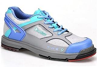 Dexter 女式 SST The 9 保龄球鞋 - 灰色/长春花/浅绿色