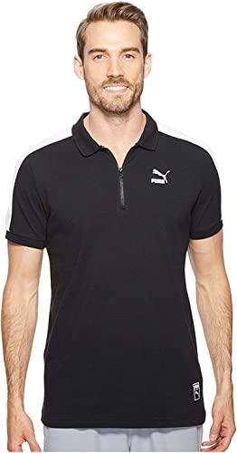 Puma Mens Farbeblock Polo Shirt