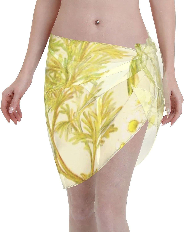 HD Vintage Flowery Bouquet Design Number 20 ~ Women Chiffon Beach Cover ups Beach Swimsuit Wrap Skirt wrap Bathing Suits for Women