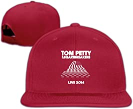Tom Petty And The Heartbreakers Heartland Rock Vintage Flat Summer Hats