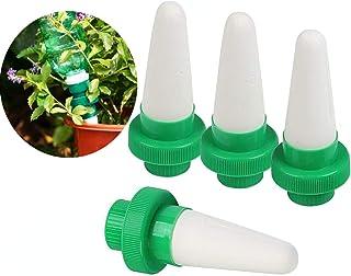 Kyerivs – Regadera de cerámica para Plantas de Interior y Exterior, Dispositivo de riego automático para Goteo de Plantas, 4 Unidades