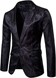 Men Blazer Men Jacket Slim Fit Casual Formal Wedding Party Work Classic Basic Comfortable Fabrics New Men Tops