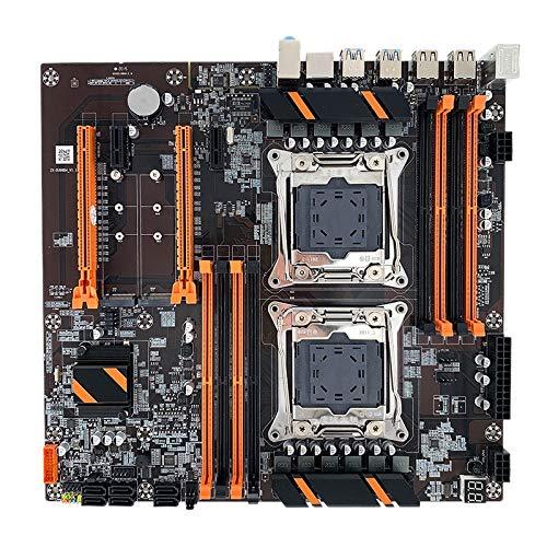 Fransande X99 - Scheda madre doppio computer desktop, server DDR4 2011V3