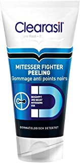 Clearasil Mitesser Fighter Peeling, Waschpeeling zur täglichen Reinigung, 1er Pack 1 x 150 ml