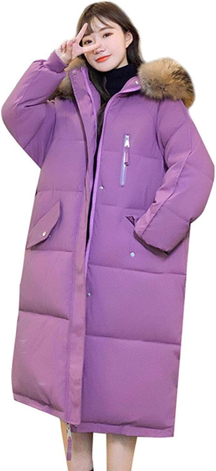 watersouprty Women's Down Coat with Hood Faux Parka Fur discount Puf Direct stock discount