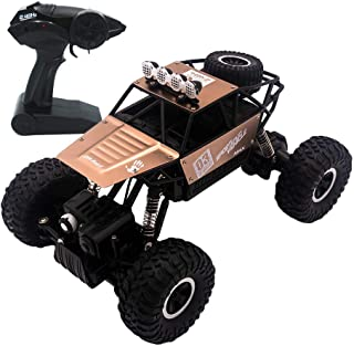 yingliwei RC Car, 1:18 Scale 2.4 GHz 4WD High Speed Remote Control Car, Racing Toy Car for Adults Kids, Brown