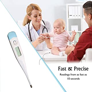 wekold Digital LCD Thermometer Oral Underarm Baby Body Temperature Measurement Thermometers