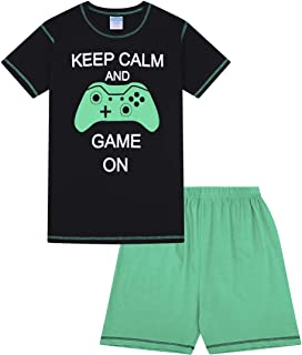 Boys Game Over Long Pyjamas 8 to 15 Years Computer Game AOP