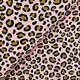 Swafing GmbH Jersey Leoparden Print auf rosa - Stoff -