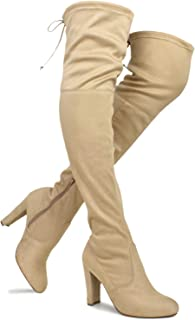 Best light tan over the knee boots Reviews