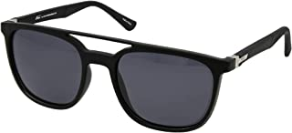 نظارات نمط رترو 5026 C:1 للرجال لون اسود (لون واحد)، (مستقطبة)
