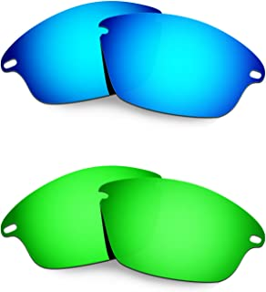Hkuco Mens Replacement Lenses For Oakley Fast Jacket Sunglasses