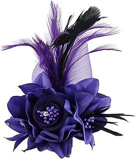 Best purple hair fascinator Reviews