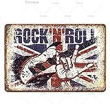keletop Musik Metall Poster Plakette Metall Vintage Rock N