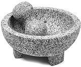 IMUSA USA MEXI-2011M Super Heavy Traditional Granite Molcajete Spice...