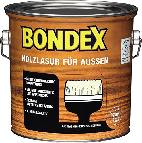 Bondex Holzlasur für Außen DunkelGrau 4,00 l - 365231