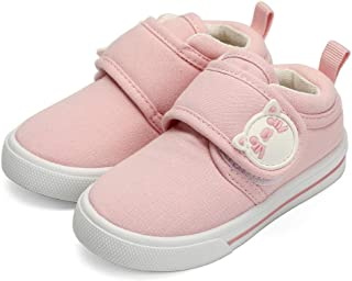 dripdrop Toddler Canvas Sneakers for Boys Girls Infant First Walker Denim Casual Fashion Shoes