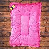 Aayat Kids ® Baby Mattress Cotton Baby Other Toddler Bedding Mattress/BabyBeddingMat/Bedding/SleepingMat/BabyBed(L-33 Inch, W-19 Inch)(Upto 12 Months,Pink)