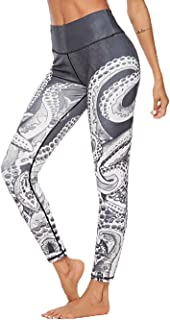 Dawwoti Yoga Tights for Women Soft Active Tights Stretchy Running Pants