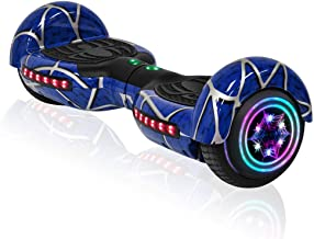 Electric Hoverboard with Built-in Speaker Motor and LED Side Lights Wheels self Balancing Scooter Dual Scooter Hover Board