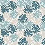Venilia Adhesiva Motivo Tropical, Decorativa, Muebles, Papel Pintado, lámina autoadhesiva, sin...