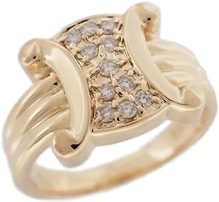 セリーヌ リング 指輪 レディース ダイヤモンド 0.15ct 750 9.5号 [未使用] 中古