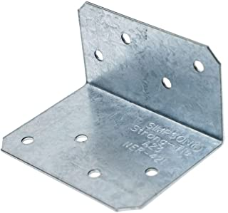 "10 Pk Simpson Strong-Tie A35 Series Galv Steel 18 Ga 4-1//2/"" Framing Angle A35Z"