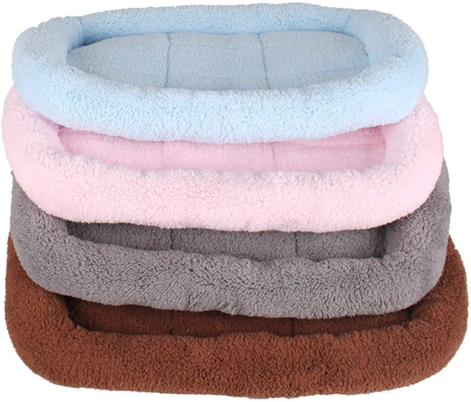 Aigou Dog Bed Soft Dog Bed Mat Kennel Portable Breathable Pet Dog Crate Mattress For Small Large Dogs Washable Cat Sleeping Pads Pet Supplies
