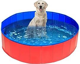 UMARDOO Fold Dog Pool - Pet Bath Pool, Swimming Pool Portable PVC Pet Paddling Bath Tub for Cats