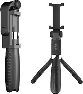 Docooler Multifuncional Sem Fio Bt Selfie Vara Para Celular Dobrável Handheld Monopé Obturador Remoto Mini Tripé Extensíve...