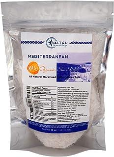Mediterranean Raw Organic Sea Salt 1 lb.