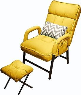 OUHZNUX Fauteuil Inclinable Moderne, Inclinable avec Dossier Réglable, avec Repose-Pieds, pour Salon Et Chambre À Coucher