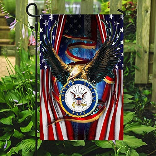 Metalick Navy Long-awaited Outdoor Flag Very popular Armed State Seabee Forces United USN