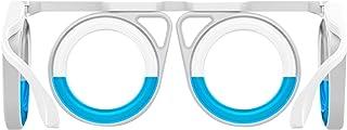 乗り物酔い眼鏡 乗り物酔い止め眼鏡 レンズなし 液体 眼鏡 軽減 乗り物酔い、航空病、船酔い 眼鏡