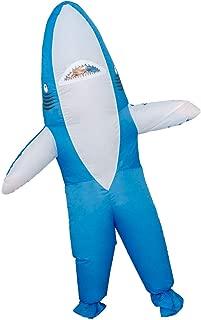 Shark Chub Suit Inflatable Halloween Costume Cosplay Jumpsuit