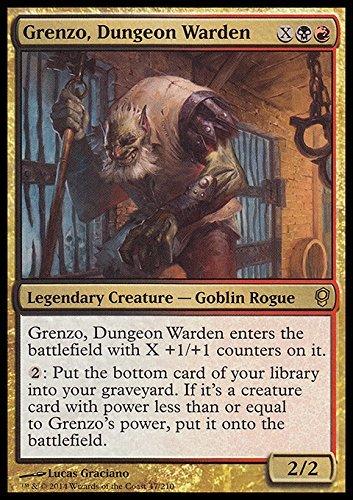 Magic The Gathering - Grenzo, Dungeon Warden - Conspiracy