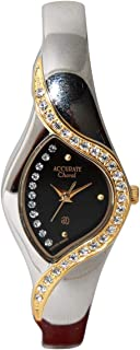 Casual Watch for Women by Accurate, Multi Color, Round, ALQ107