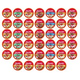 Friendly's Ice Cream Flavored Coffee Variety Pack Sampler Pods for Keurig K Cup Brewers, 40 Count