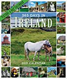365 Days in Ireland Picture-A-Day Wall Calendar 2021
