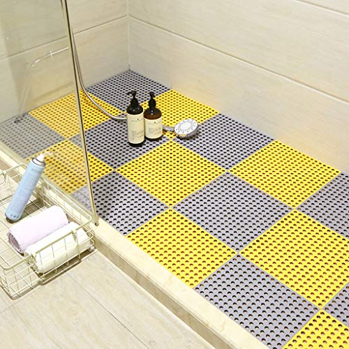 For Sale! Bath mats antiscivolo Absorbent Floor Mat Stitching Shower Room Bathing Water Hollow Plast...