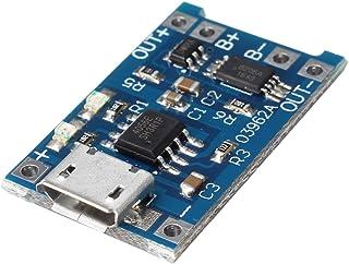 ILS – Micro USB 3.7 V 3.6 V 4.2 V 1 A 18650 TP4056 Litio Batería Módulo cargador tarjeta de alimentación de iones de litio