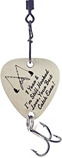 liduola 1st Wedding 1 Year & I'm Still Hooked Love Your Best Catch Ever Fishing Lure Gift Anniversary Christmas for Husban...