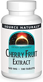 Cherry Fruit Extract 500mg Source Naturals, Inc. 180 Tabs