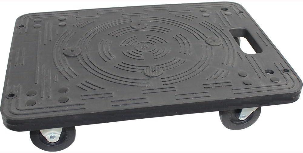 MaxWorks 80854 Polypropylene Dolly-200-lb Capacity , Black: Automotive