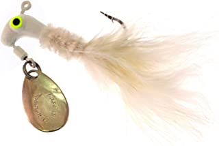 Blakemore Lure Co Road Runner Marabou 1/8oz White 2pk