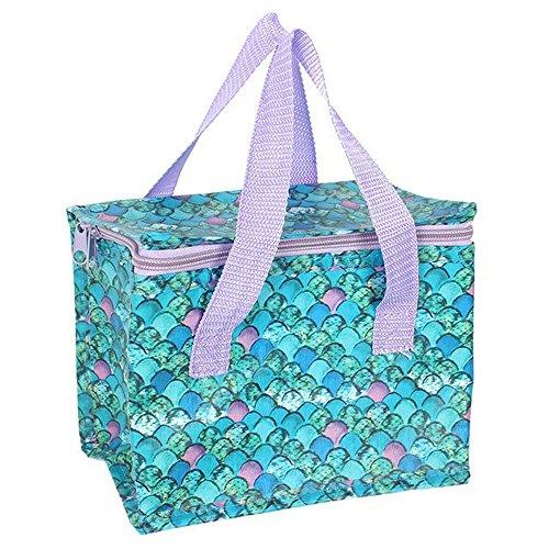 Something Different Kühltasche mit Meerjungfrauenschuppen-Aufdruck (Einheitsgröße) (Bunt)