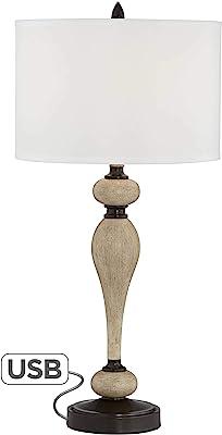 Black 28.5 28.5 Fangio Lighting 1743 Traditional Metal Table Lamp