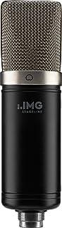IMG STAGELINE ECMS-70 - Micrófono de condensador (membrana grande, vocal, instrumento para uso profesional, incluye soport...