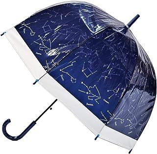 CAFE DIMLY カフェディムリー バードケージ 星座NV ネイビー レディース傘 ジャンプタイプ 折れにくいグラスファイバー骨使用 高品質設計軽量 constellation