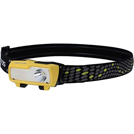GENTOS(ジェントス) LED ヘッドライト コンブレーカー 【明るさ190-420ルーメン/実用点灯3-6時間/耐塵】 ANSI規格準拠